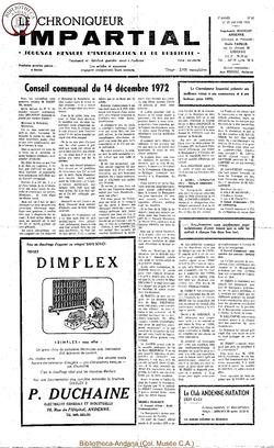 7e année - n82 - 10 janvier 1973