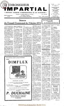 7e année - n83 - 14 février 1973