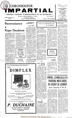 7e année - n84 - 22 mars 1973