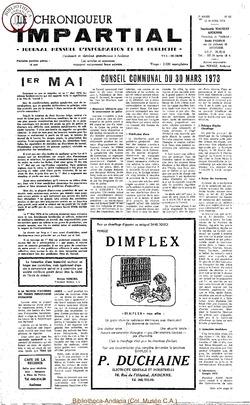 7e année - n85 - 18 avril 1973