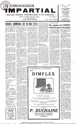 7e année - n86 - 24 mai 1973