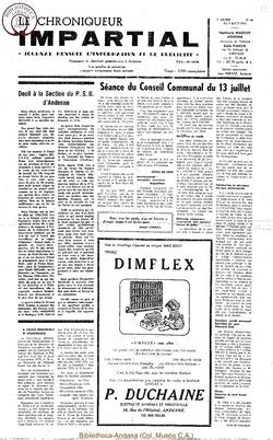 7e année - n88 - 8 août 1973