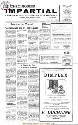 7e année - n90 - 3 octobre 1973