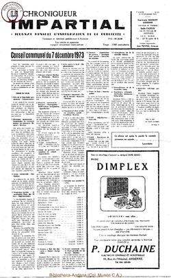 7e année - n92 - 13 décembre 1973