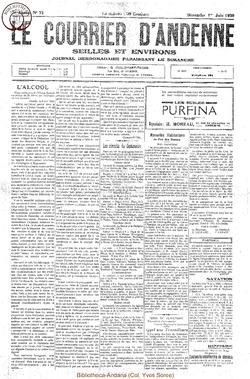 7e annee - n22 - 1 juin 1930