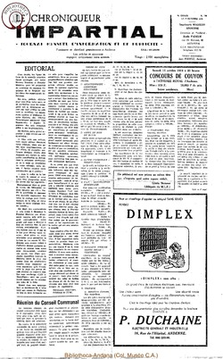 8e année - n100 - 9 octobre 1974