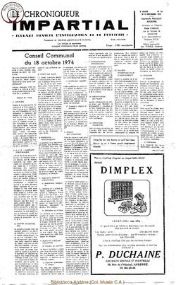 8e année - n101 - 13 novembre 1974