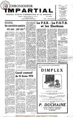 8e année - n94 - 20 fevrier 1974