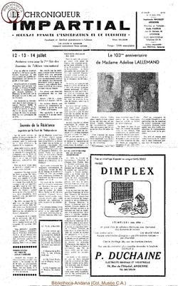 8e année - n97 - 19 juin 1974
