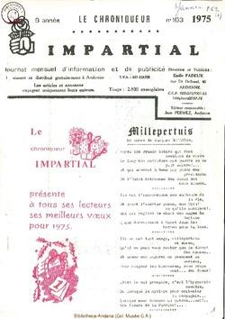 9e année - n103 - janvier 1975