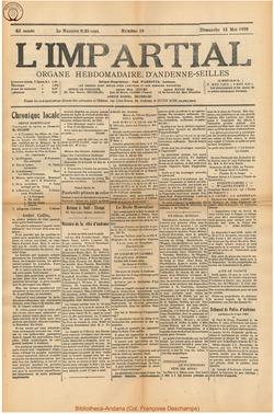 43e annee – n19 – 13 mai 1928