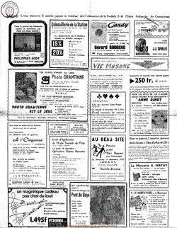 Publicitaire 11 decembre 1975