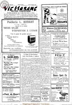 Publicitaire 12 décembre 1964