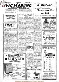 Publicitaire 15 fevrier 1964