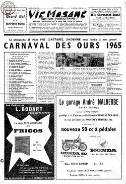 Publicitaire 20 mars 1965