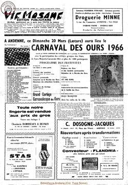 Publicitaire 20 mars 1966