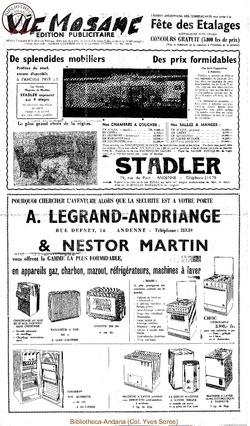 Publicitaire 21 mars 1964