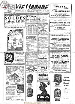 Publicitaire 23-30 janvier 1959
