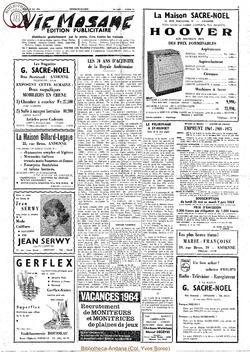 Publicitaire 23 mai 1964