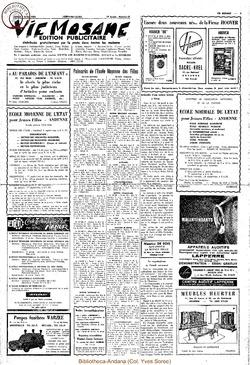 Publicitaire 3 juillet 1965