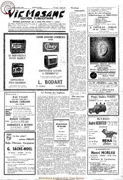 Publicitaire 3 octobre 1964