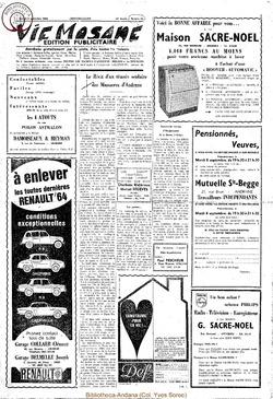 Publicitaire 5 septembre 1964
