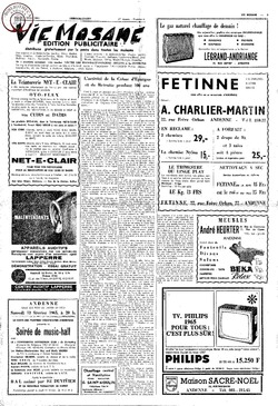 Publicitaire 6 fevrier 1965