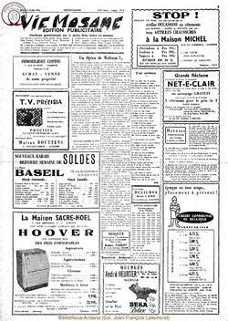 Publicitaire 8 fevrier 1964