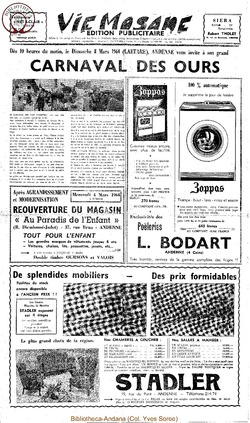 Publicitaire 8 mars 1964