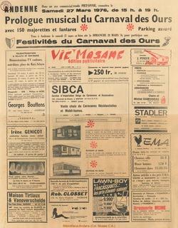 Publicitaire n°11 – 18 mars 1976