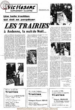 Special Trairies 18 decembre 1971