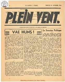 1e année - n°2 - 24 novembre 1944