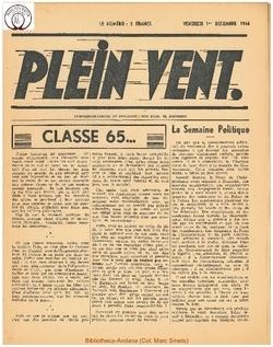1e année - n°3 - 1 decembre 1944