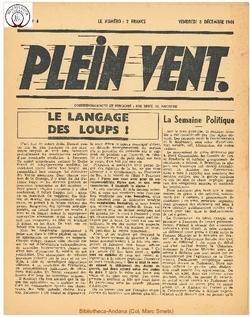1e année - n°4 - 8 decembre 1944