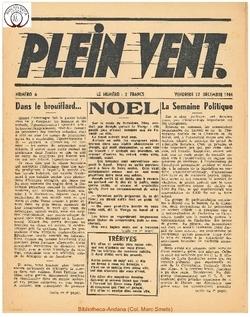 1e année - n°6 - 22 decembre 1944