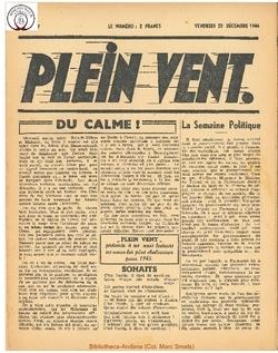 1e année - n°7 - 29 decembre 1944