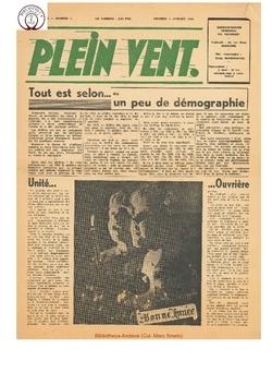 3e année - n°1 - 4 janvier 1946
