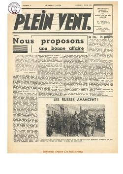 3e année - n°10 - 8 mars 1946