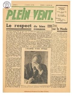 3e année - n°2 - 11 janvier 1946