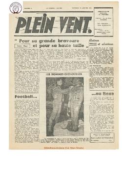 3e année - n°4 - 25 janvier 1946