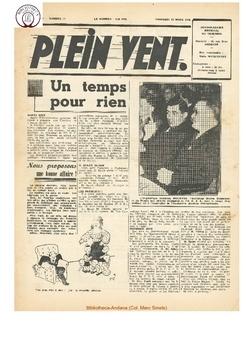 3e année - n°71 - 22 mars 1946