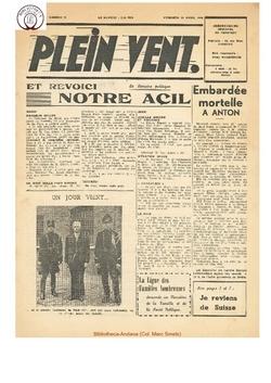 3e année - n°72 - 29 mars 1946