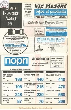 46e année - n°13 - 26 mars 1992