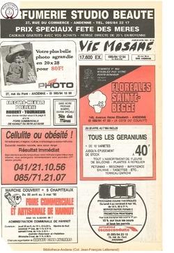 46e année - n°18 - 30 avril 1992
