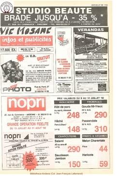 46e année - n°28 - 9 juillet 1992