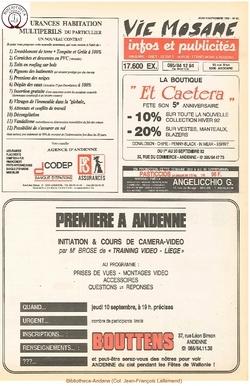 46e année - n°31 - 3 septembre 1992
