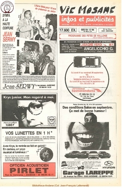 46e année - n°33 - 17 septembre 1992