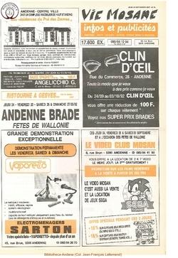 46e année - n°34 - 24 septembre 1992