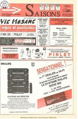46e année - n°35 - 1 octobre 1992