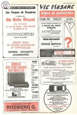 46e année - n°37 - 15 octobre 1992